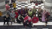 Jorfors Hall Viking re-enactment group Living History display 5