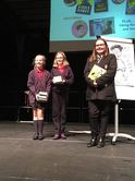 Most online reviews Primary  - Saltersgate Junior, Most online reviews Secondary - Hall Cross Academy